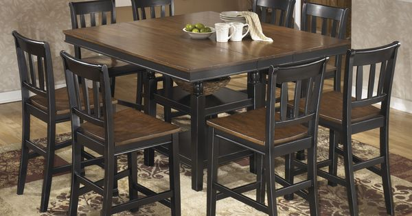 Owingsville 9pc Counter Height Table Set Outfit My Home