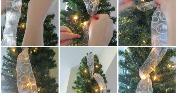 Cool Ways To Wrap Ribbon Around A Christmas Tree How To