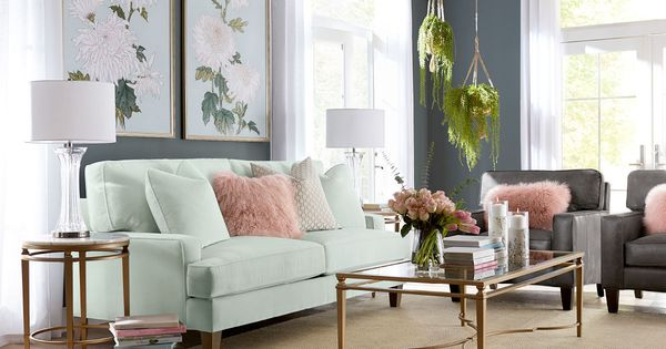 Living Room With Mint Green Couch Green Sofa Living Room Green Sofa Living Mint Living Rooms