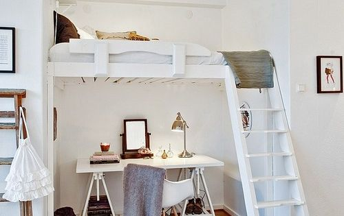 clever solution for a very small flat (via PLANETE DECO) - my