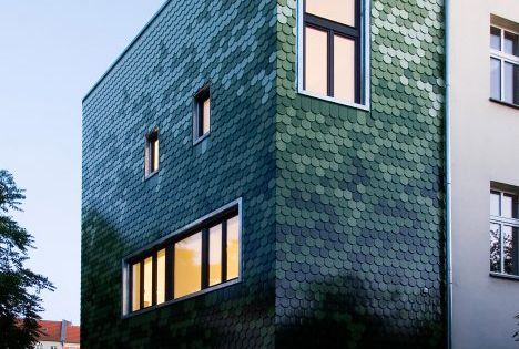 This house in berlin designed by brandt simon architekten is covered