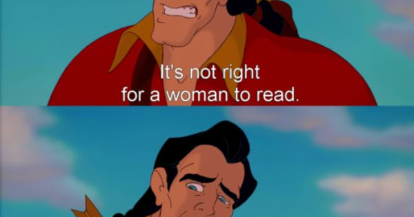 """Funniest line in any Disney movie! """"It's not right for a woman"""