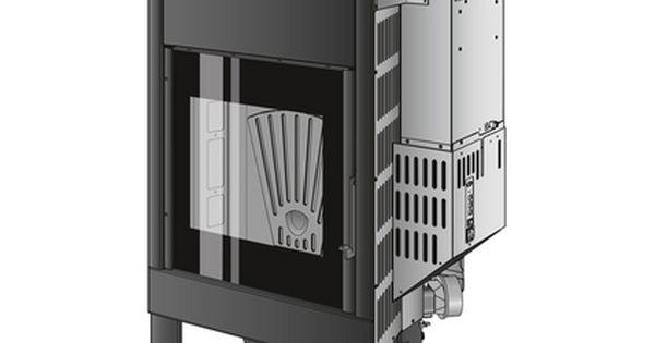 Caminetti Montegrappa Inbouw Pelletkachel Cladding Vuurplaatsen