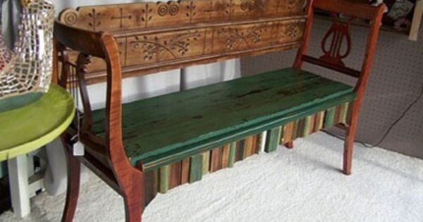 amazing upcycled diy projects new year 39 s benches and chairs