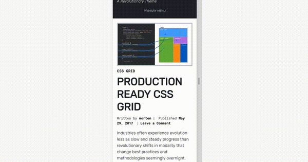 Building Production-Ready CSS Grid Layouts Today Css grid, Grid - best of blueprint fixed background scrolling layout