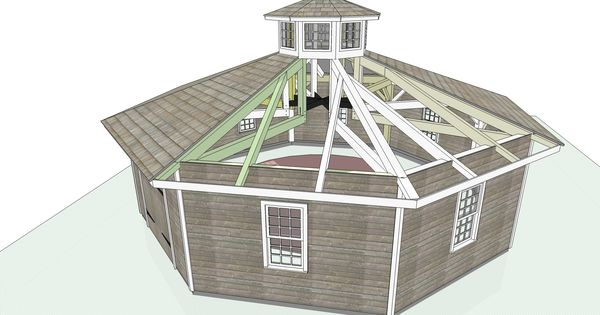 Tiny House Plans Do It Yourself: Octagon House Plans Build Yourself