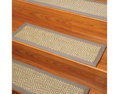 Natural Area Rugs Festival Beige Carpet Stair Tread Set