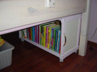 Underbed Storage Ideas Design Dazzle Diy Storage Kids Book Storage Diy Storage Bed