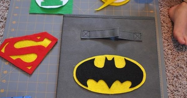 Superhero templates - Superhero Bins {Tutorial and Printable}