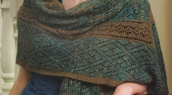 Luxe Feminine Soft Qiviut Shawl Made by Alice Scherp from