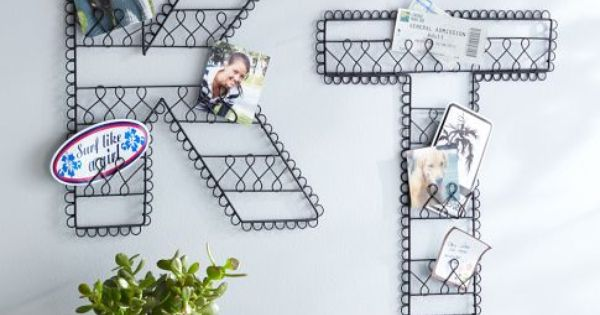 Wire Wall Letters | Pottery Barn Teen