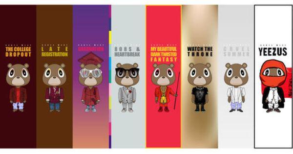 Yeezy Eras Kanye West Bear Kanye West Graduation Kanye