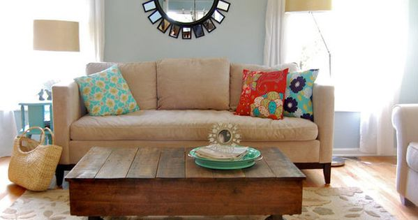 Pallet Coffee Table (Ideas for Old Pallets)