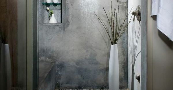 Des teintes sombres pour une salle de bain moderne for Decormag salle de bain