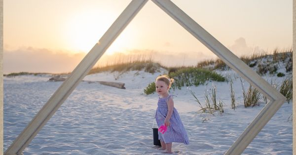 family beach pictures, sunset pictures, family poses, little girls, colorful family pictures,