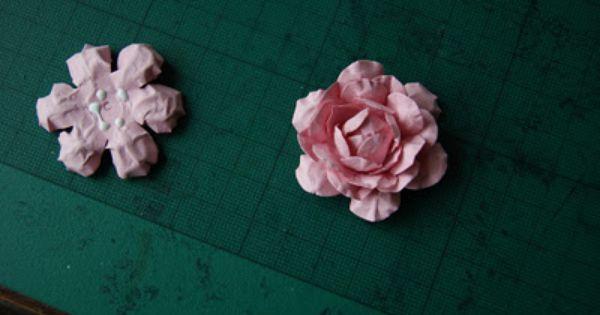 Joanna Krogulec Jak Zrobic Rozyczke Iii Paper Punch Art How To Make Rose How To Make