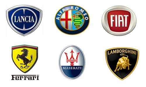 Italian Car Brands Names List And Logos Of Italian Cars With