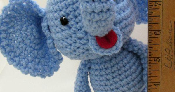 Amigurumi To Go Little Bigfoot Elephant : Little Bigfoot Elephant Video and Pattern ~ Amigurumi To ...