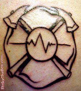 Maltese Firefighter Tattoo Firefighter Tattoo Fire Department