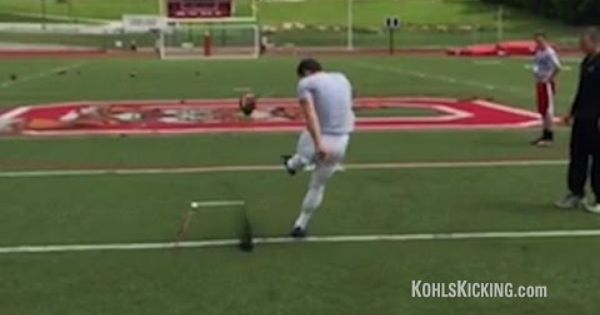 75 Yard Field Goal By High School Kicker Logan Tyler Field Goal Florida State University Fsu Seminoles Football