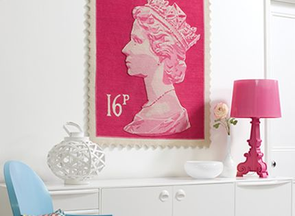 Wall art for the (royal) nursery, anyone? queenelizabeth