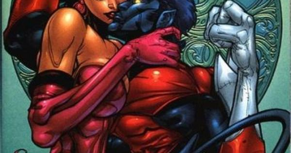 Nightcrawler and Cerise | Comic Book Couples | Pinterest ...