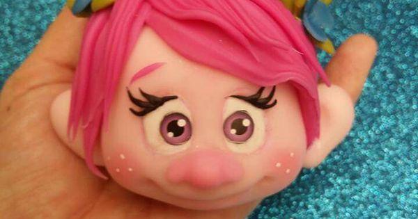 ~ FONDANT FUN ~Princess Poppy Troll Design