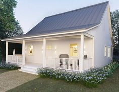 2 Bedroom Cottage Affordable Aust Kit Homes Small Cottage Homes Small Cottage House Plans House Plans Australia
