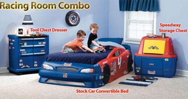 bed set cars room toddler car bed