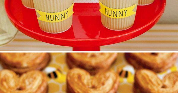 Classic + Modern Winnie the Pooh Baby Shower | Babies ...