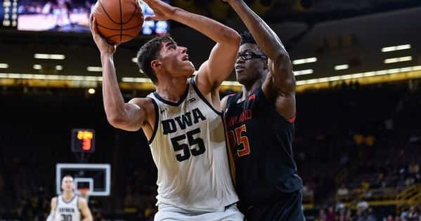 Maryland Vs Iowa 1 30 20 College Basketball Pick Odds And