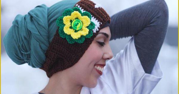 Football Headband with flower applique - free crochet ...