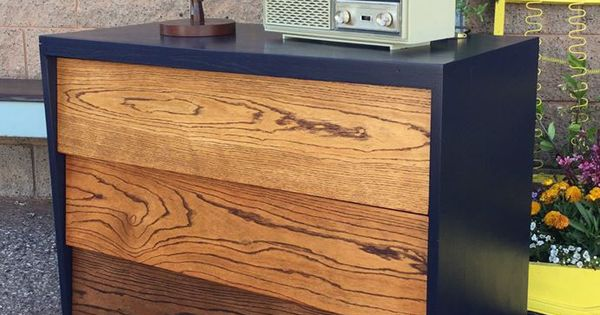 Midcentury Modern Dresser Will Ombre Stain In General