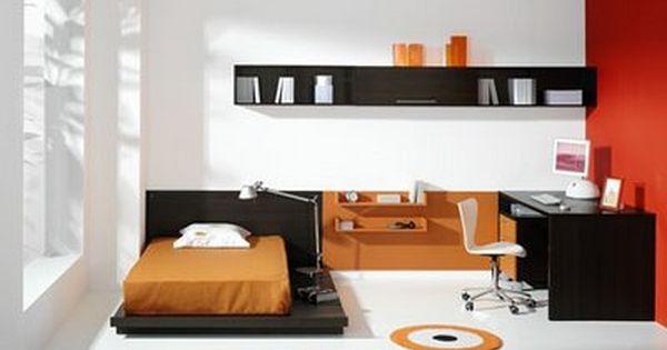 Dormitorio juvenil minimalista my life pinterest repisas escritorios y muebles minimalistas - Dormitorios juveniles minimalistas ...