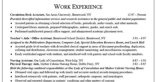 Sample Resume For Secretary Receptionist