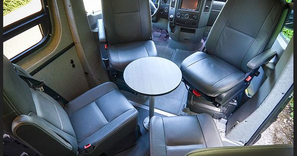 sprinter conversion swivel seat bases with captain chairs portable bedroom pinterest. Black Bedroom Furniture Sets. Home Design Ideas