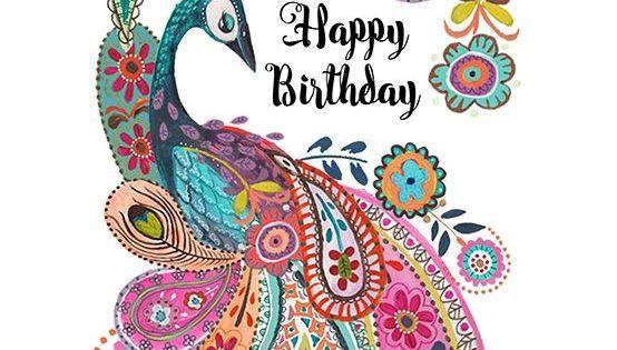 Pin By Hanna Kropkowska On Happy Birthday: Happy Birthday In Paisley ~