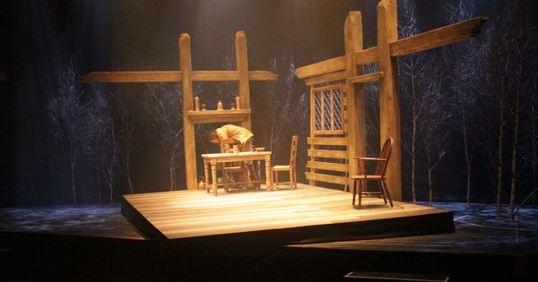 The Crucible Rose Theatre Set Designed By Mia Flodquist