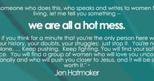 We're making amends! ;) Jen Hatmaker podcasts for all ...