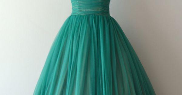 vintage 1950s dress | party dress!