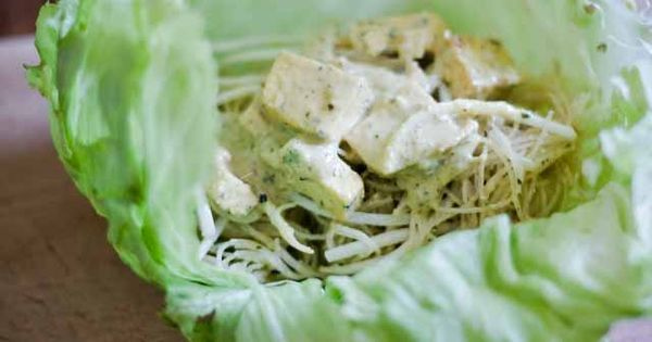 Lemongrass Chicken Lettuce Wraps Recipe