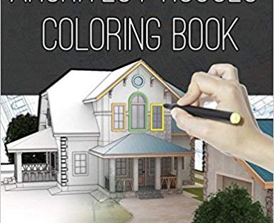 Architect Houses Coloring Book Detailed Relaxing Exterior Design Houses Buildings Architecture De Architect House Exterior Design House Designs Exterior