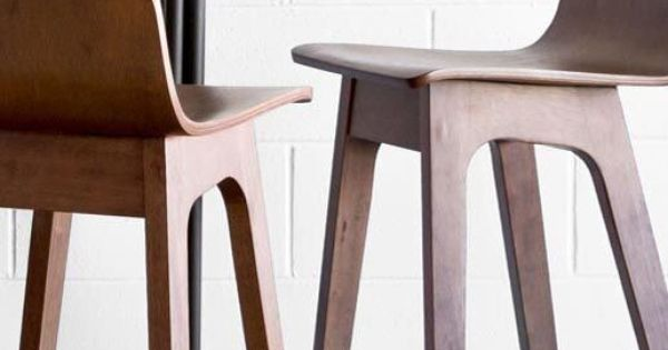 Ava Walnut Bar Stool Inspiration