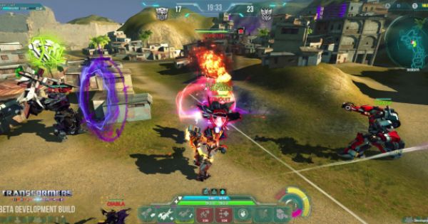 Transformers Universe The Free 3rd Person Moba Multiplayer