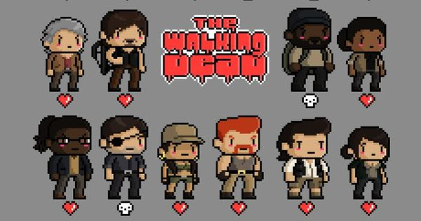 Zombie Characters From Walking Dead