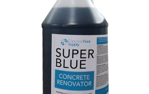 Super Blue Penetrating Concrete Cleaner And Renovator Concrete Cleaner Concrete Blue