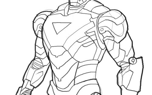 Elegant 20 Ausmalbilder Lego Iron Man: Ironman Mark06 Iron Man Coloring