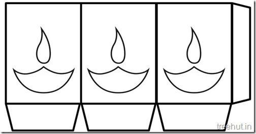 Free Diwali Paper Lantern Craft Templates In 2020 Paper Lanterns