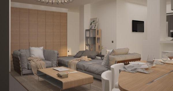 Palette de couleur salon moderne froide chaude ou neutre tables en bois couleurs blanches - Beige couleur chaude ou froide ...