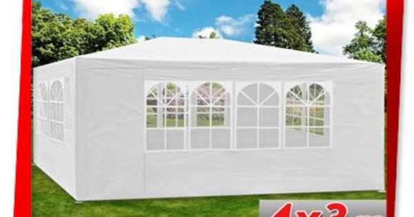 Pawilon Ogrodowy Handlowy 3x4 Namiot Altanka Outdoor Structures Outdoor Gazebo